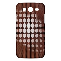 Technical Background With Circles And A Burst Of Color Samsung Galaxy Mega 5 8 I9152 Hardshell Case  by Simbadda