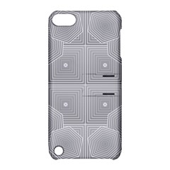 Grid Squares And Rectangles Mirror Images Colors Apple Ipod Touch 5 Hardshell Case With Stand by Simbadda