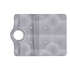 Grid Squares And Rectangles Mirror Images Colors Kindle Fire Hd (2013) Flip 360 Case by Simbadda