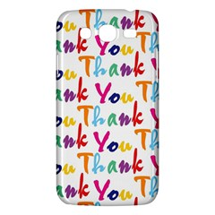 Wallpaper With The Words Thank You In Colorful Letters Samsung Galaxy Mega 5 8 I9152 Hardshell Case  by Simbadda