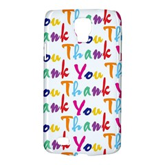 Wallpaper With The Words Thank You In Colorful Letters Galaxy S4 Active by Simbadda