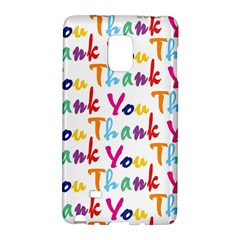 Wallpaper With The Words Thank You In Colorful Letters Galaxy Note Edge by Simbadda