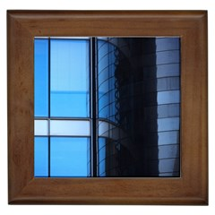 Modern Office Window Architecture Detail Framed Tiles by Simbadda