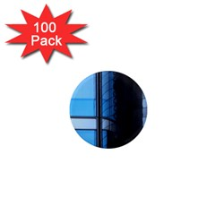 Modern Office Window Architecture Detail 1  Mini Magnets (100 Pack)  by Simbadda