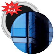 Modern Office Window Architecture Detail 3  Magnets (100 Pack) by Simbadda