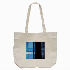 Modern Office Window Architecture Detail Tote Bag (cream) by Simbadda