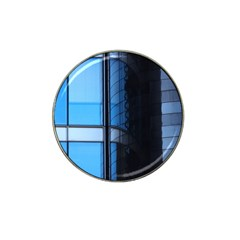 Modern Office Window Architecture Detail Hat Clip Ball Marker (4 Pack) by Simbadda