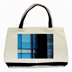 Modern Office Window Architecture Detail Basic Tote Bag (two Sides) by Simbadda
