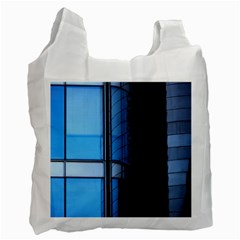 Modern Office Window Architecture Detail Recycle Bag (two Side)  by Simbadda