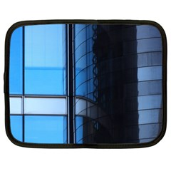 Modern Office Window Architecture Detail Netbook Case (xl)  by Simbadda