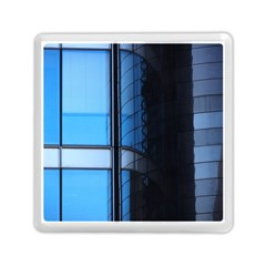 Modern Office Window Architecture Detail Memory Card Reader (square)  by Simbadda