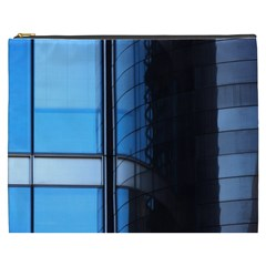 Modern Office Window Architecture Detail Cosmetic Bag (xxxl)  by Simbadda