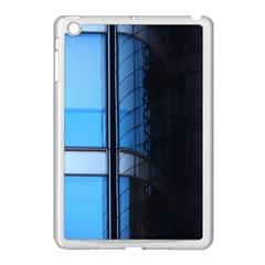 Modern Office Window Architecture Detail Apple Ipad Mini Case (white) by Simbadda