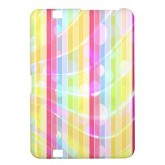 Colorful Abstract Stripes Circles And Waves Wallpaper Background Kindle Fire Hd 8 9  by Simbadda
