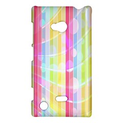 Colorful Abstract Stripes Circles And Waves Wallpaper Background Nokia Lumia 720