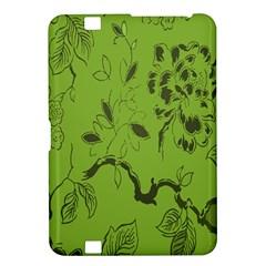Abstract Green Background Natural Motive Kindle Fire Hd 8 9  by Simbadda