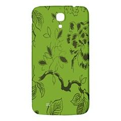 Abstract Green Background Natural Motive Samsung Galaxy Mega I9200 Hardshell Back Case by Simbadda