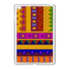 Abstract A Colorful Modern Illustration Apple Ipad Mini Case (white) by Simbadda