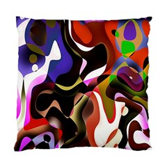 Colourful Abstract Background Design Standard Cushion Case (two Sides) by Simbadda