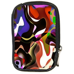 Colourful Abstract Background Design Compact Camera Cases by Simbadda