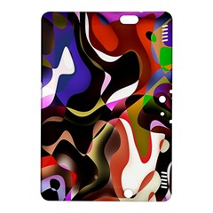 Colourful Abstract Background Design Kindle Fire Hdx 8 9  Hardshell Case
