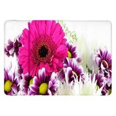 Pink Purple And White Flower Bouquet Samsung Galaxy Tab 8 9  P7300 Flip Case by Simbadda