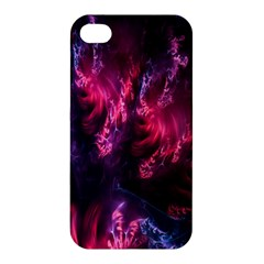 Abstract Fractal Background Wallpaper Apple Iphone 4/4s Premium Hardshell Case by Simbadda