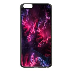 Abstract Fractal Background Wallpaper Apple iPhone 6 Plus/6S Plus Black Enamel Case by Simbadda