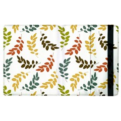 Colorful Leaves Seamless Wallpaper Pattern Background Apple Ipad 3/4 Flip Case by Simbadda