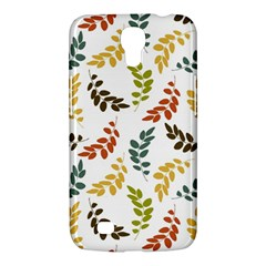 Colorful Leaves Seamless Wallpaper Pattern Background Samsung Galaxy Mega 6 3  I9200 Hardshell Case by Simbadda