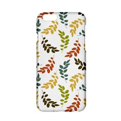 Colorful Leaves Seamless Wallpaper Pattern Background Apple Iphone 6/6s Hardshell Case by Simbadda