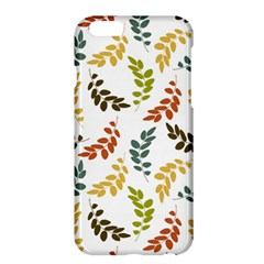Colorful Leaves Seamless Wallpaper Pattern Background Apple Iphone 6 Plus/6s Plus Hardshell Case