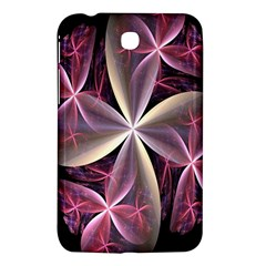 Pink And Cream Fractal Image Of Flower With Kisses Samsung Galaxy Tab 3 (7 ) P3200 Hardshell Case  by Simbadda