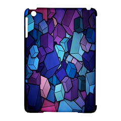 Cubes Vector Art Background Apple Ipad Mini Hardshell Case (compatible With Smart Cover) by Simbadda