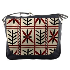 Abstract A Colorful Modern Illustration Pattern Messenger Bags by Simbadda