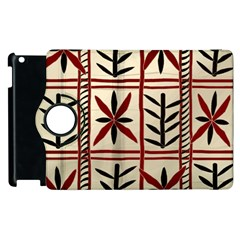 Abstract A Colorful Modern Illustration Pattern Apple Ipad 3/4 Flip 360 Case by Simbadda