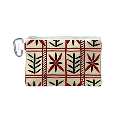 Abstract A Colorful Modern Illustration Pattern Canvas Cosmetic Bag (s) by Simbadda