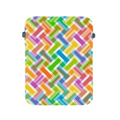 Abstract Pattern Colorful Wallpaper Background Apple Ipad 2/3/4 Protective Soft Cases by Simbadda
