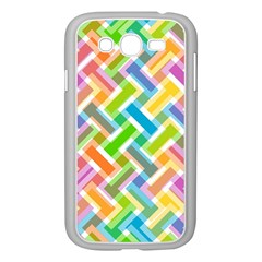 Abstract Pattern Colorful Wallpaper Background Samsung Galaxy Grand Duos I9082 Case (white) by Simbadda