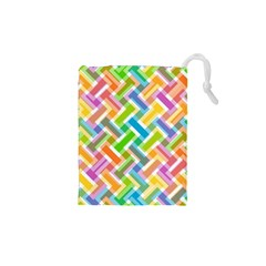 Abstract Pattern Colorful Wallpaper Background Drawstring Pouches (XS)  by Simbadda