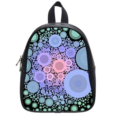 An Abstract Background Consisting Of Pastel Colored Circle School Bags (small)  by Simbadda