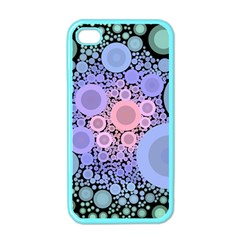 An Abstract Background Consisting Of Pastel Colored Circle Apple Iphone 4 Case (color) by Simbadda