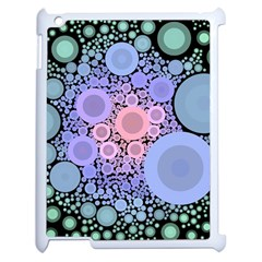 An Abstract Background Consisting Of Pastel Colored Circle Apple Ipad 2 Case (white) by Simbadda