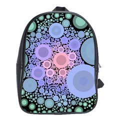 An Abstract Background Consisting Of Pastel Colored Circle School Bags (xl)  by Simbadda