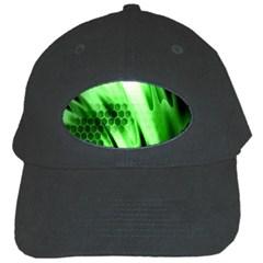 Abstract Background Green Black Cap by Simbadda
