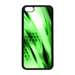 Abstract Background Green Apple Iphone 5c Seamless Case (black) by Simbadda