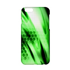 Abstract Background Green Apple Iphone 6/6s Hardshell Case by Simbadda