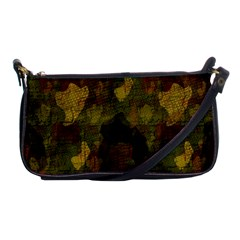 Textured Camo Shoulder Clutch Bags by Simbadda