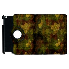 Textured Camo Apple Ipad 3/4 Flip 360 Case by Simbadda