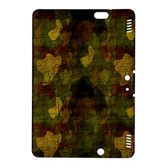 Textured Camo Kindle Fire Hdx 8 9  Hardshell Case by Simbadda